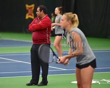 ISU Tennis vs Baylor 03/29/15