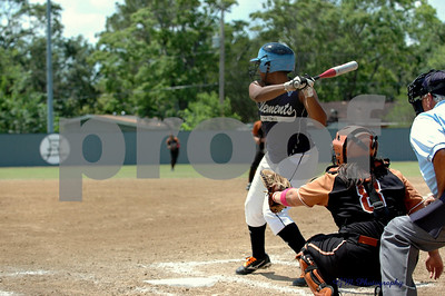 Clements Lady Rangers last play-off game
