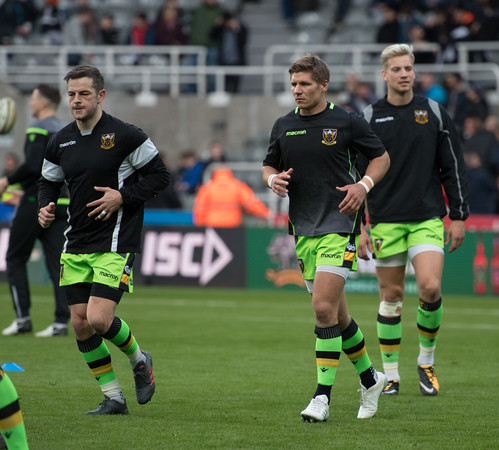 Newcastle Falcons vs Northampton Saints, Aviva Premiership, St James' Park, 24 March 2018