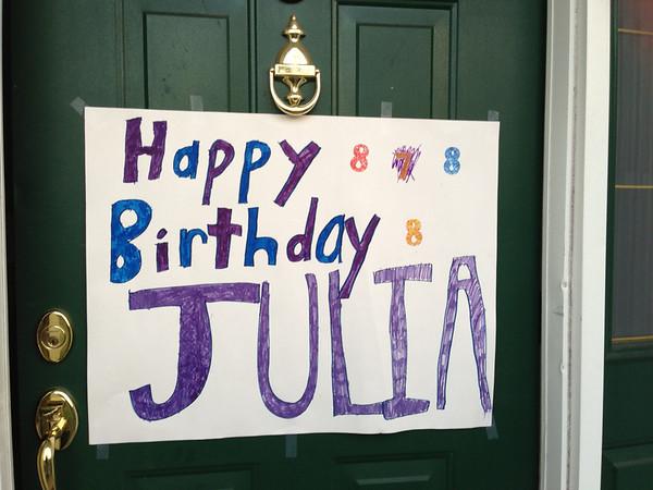 Julia's 8th Birthday