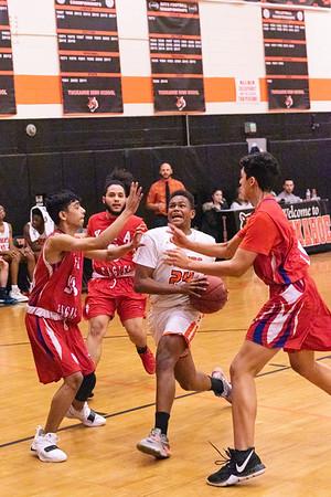 Tuckahoe Varsity Basketball vs YMA