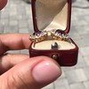 7.30ctw Victorian Amethyst and Old Mine Cut Diamond Cluster Earrings 5