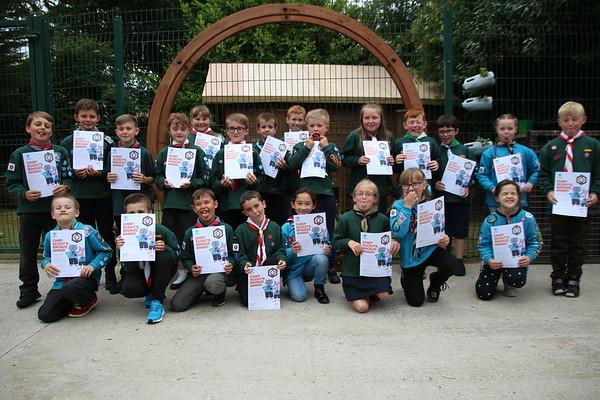 Beavers - Chief Scout Bronze Award 2018
