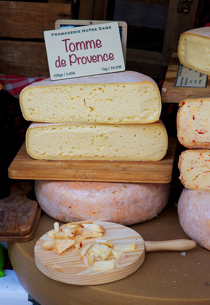 Provence Cheese from the Arles Market