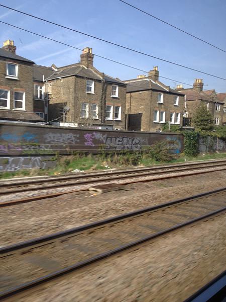 England by train