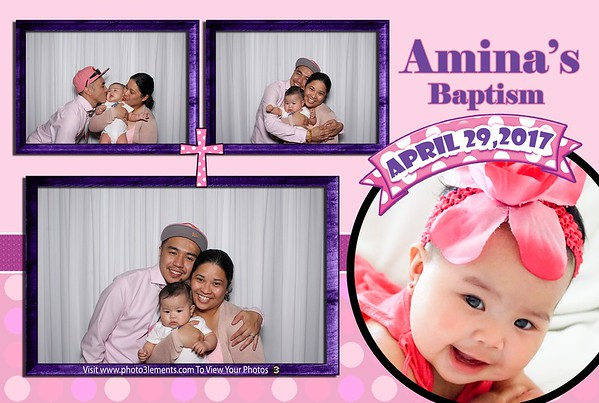 Amina's Baptism 4-29-17