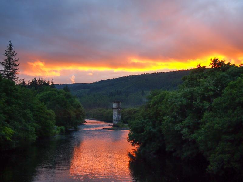 Loch Ness Sunset