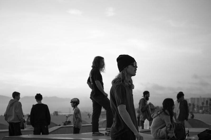 Venice Beach Skate Scene