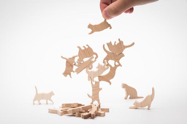 COMMA | 貓咪疊疊樂