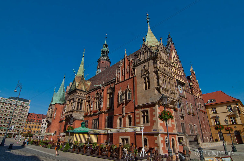 Wroclaw townhall