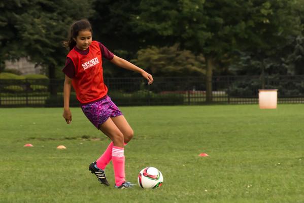 NY Soccer Practice