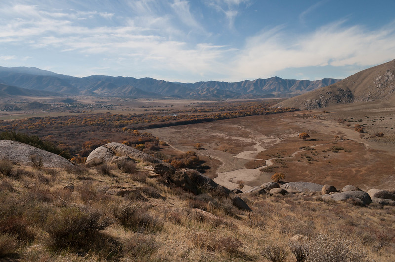 View of the Kern River Preserve from Red Tail Point