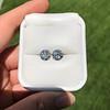 4.08ctw Old European Cut Diamond Pair, GIA I VS2, I SI1 4