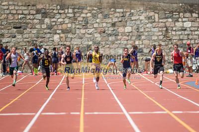D2 Boys' 100 Meters Final - 2014 MHSAA LP T&F Finals