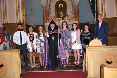 Divine Liturgy at Holy Trinity Church and Installation of ACYOA Central Council Members, May 29, 2016