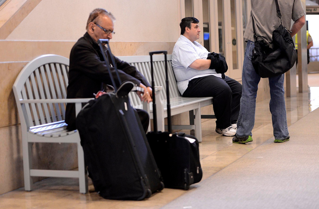 . Former SBIA developer Scot Spencer sits in the John Wayne Airport in Santa Ana March 28, 2013.   GABRIEL LUIS ACOSTA/STAFF PHOTOGRAPHER.