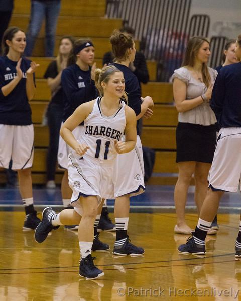 2012-12-01 Hillsdale College Women's Basketball vs. Lake Superior St.