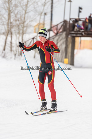 Osseo & Maple Grove Nordic Ski Meet 1-26-17