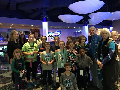 2018 Atlanta Regional Sleepover at Aquarium