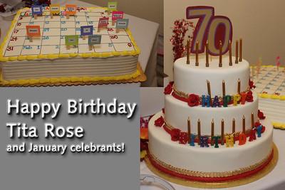 Tita Rose 70th Birthday