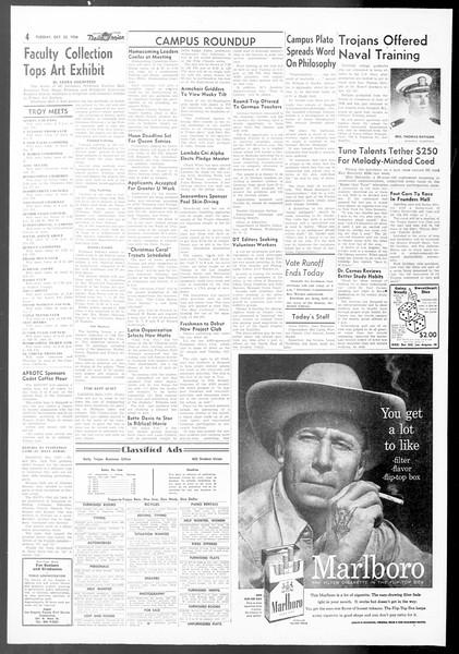 Daily Trojan, Vol. 48, No. 23, October 23, 1956