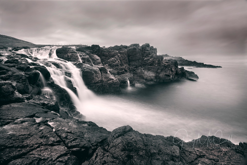 Dunseverick Waterfall
