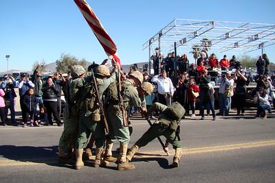 February - Iwo Jima Memorial Parade, etc.