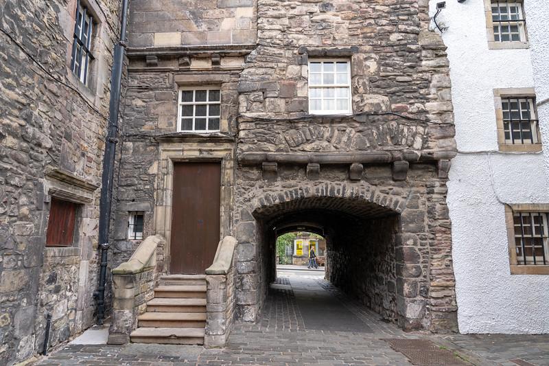 Outlander filming location in Edinburgh