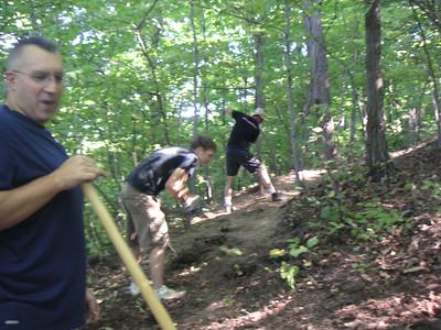 Brady's Run Trail Maintenance - 20070923