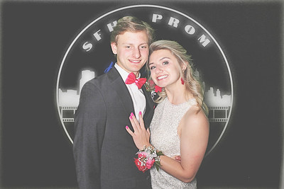 4-16-21 Atlanta The Hotel at Avalon Photo Booth - SFHS Prom 2021 - Robot Booth
