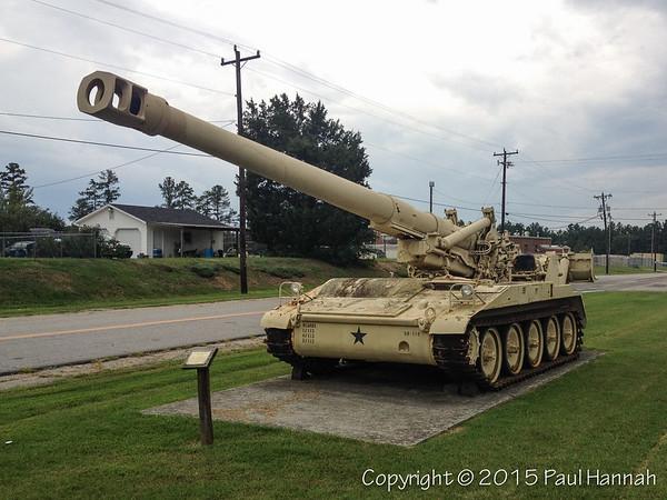 Butner, NC NCANG Armory - M110 + Arty