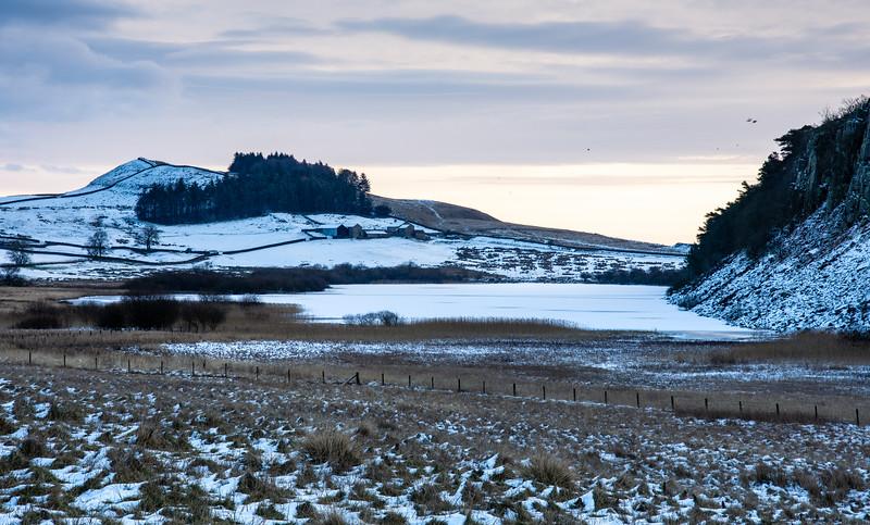 Winter at Crag Lough