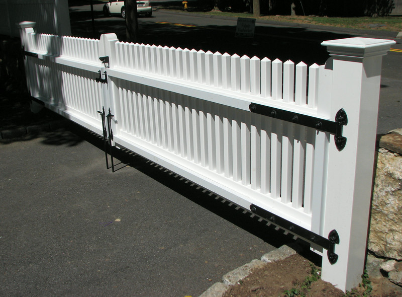 177 - New Canaan - Hollow Vinyl Double Gate
