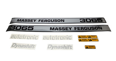 MF 3065 SERIES BONNET DECAL SET
