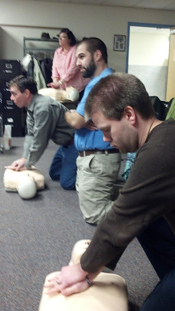 Mentor CPR/AED Training