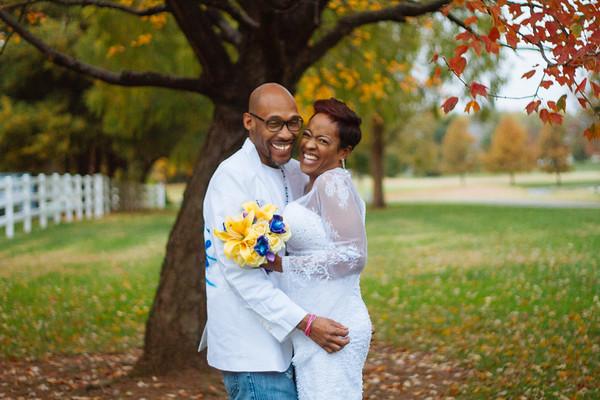 TiAnn & Michael. Married