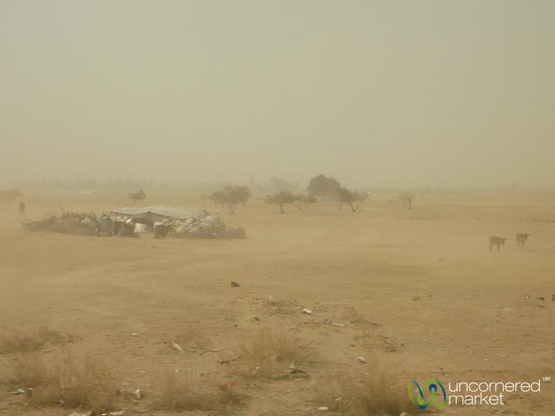 Dust Storms near Dead Sea - Jordan