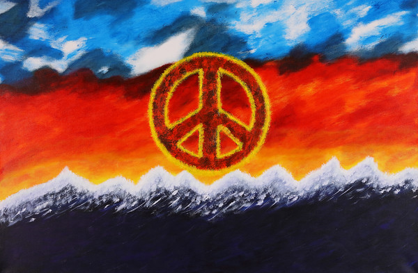 """PEACE IN THE SUNSET"""