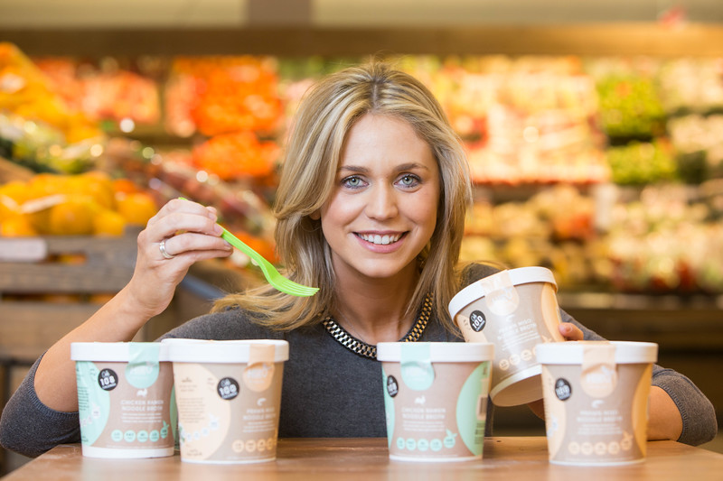 Roisin Hogan, founder and creator of Hiro by Roisin chilled healthy meals.  PIC DARRAGH KANE