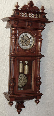 VR-207 - Altdeutsche Time and Strike Vienna Regulator by Gustav Becker