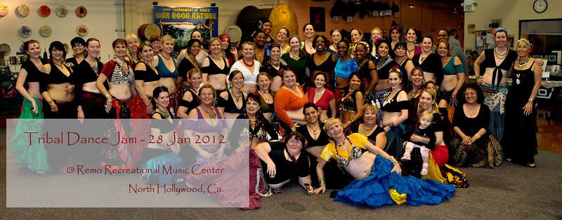 Tribal Dance Jam - Jan 2012