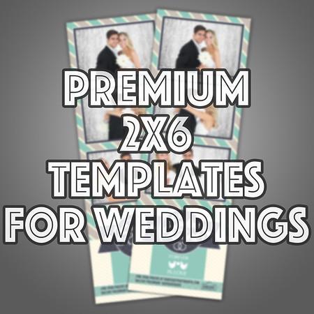 Premium 2x6 Strips Wedding