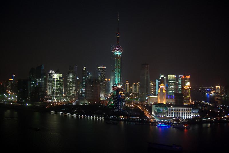 Shanghai skyline (1) Shanghai, China (11-12-2008).psd