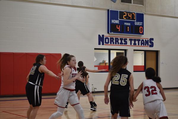 Norris 8th grade vs. Elkhorn Valley View