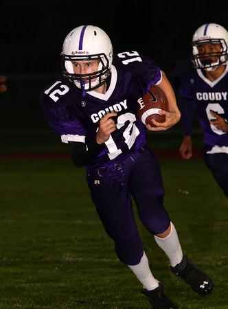 2014 Elk County Catholic JV Football @ Coudersport