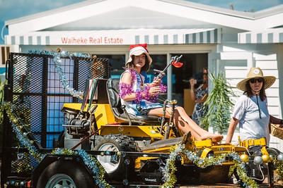 Santa Parade Waiheke Island 2017