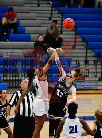 Bishop O'Connell vs. Chantilly Girls Varsity Basketball 12-26-19 | Rebel Round Ball Classic