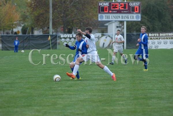 10-22-14 Sports Continental vs Ft. Jennings Boys Soccer