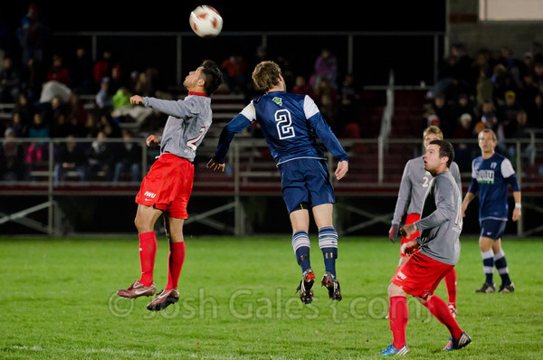 11/3/12 Men's Soccer vs. MVNU