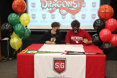 US Basketball Signing Ceremony 4-28-21
